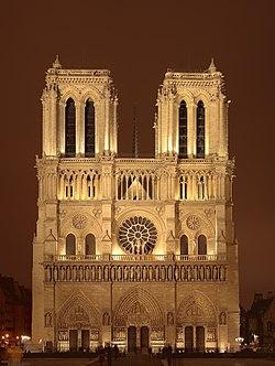 Notre Dame DeParis - wikipedia