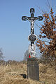 Nové Dvory - krucifix nad Dubenským potokem (Haklovy Dvory).jpg