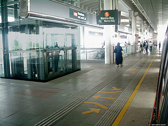 History of the MRT (Singapore) - Woodlands is a station built part of the Woodlands Extension together with Woodlands Regional Bus Interchange, located under the station.