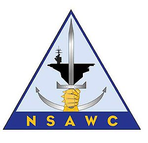 Naval Strike and Air Warfare Center - Former NSAWC logo; NAWDC utilizes same logo with acronym NAWDC