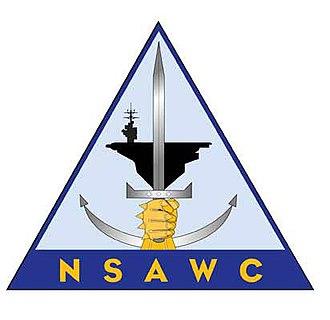 Naval Aviation Warfighting Development Center - Former NSAWC logo; NAWDC utilizes same logo with acronym NAWDC