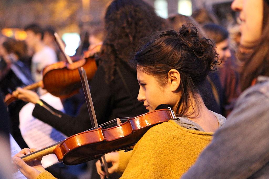 Nuit debout - Paris - Orchestre Debout 16