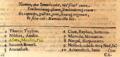 Numbered list for Delubrum Samaritanum - Oedipus Aegyptiacus.png