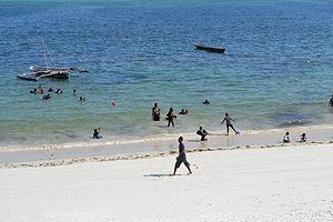Nyali Beach from the Reef Hotel during high tide in Mombasa, Kenya 24.jpg