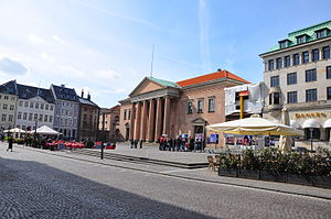 Nytorv - Nytorv with the courthouse to the right