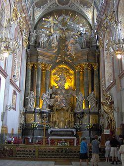 Bazylika – ołtarz główny