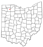 Location of McClure, Ohio