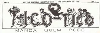 O Tico-Tico - O Tico-Tico. Logo by Angelo Agostini.