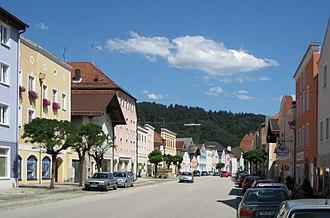 Obernzell - Marktplatz von Obernzell