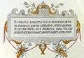 Obernzell Schloss - Lateinische Inschrift 1.jpg