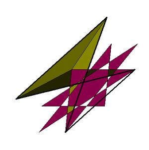 Octagrammic crossed-antiprism - Image: Octagrammic antiprism 5 8 vertfig