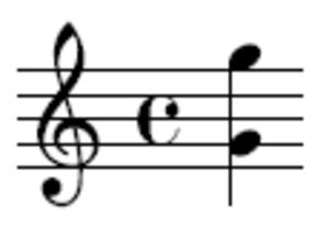 Octave - An example of an octave, from G4 to G5