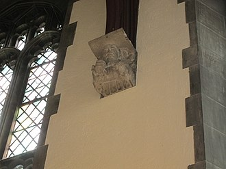 Hart House (University of Toronto) - Officer carved into stone corbel