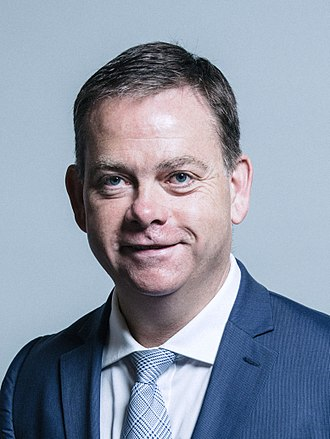 Office of the Secretary of State for Wales - Image: Official portrait of Nigel Adams crop 2