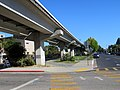Ohlone Greenway and R-Line viaduct (4), July 2020.JPG