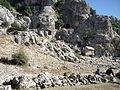 Olba antik kenti mezarları.JPG