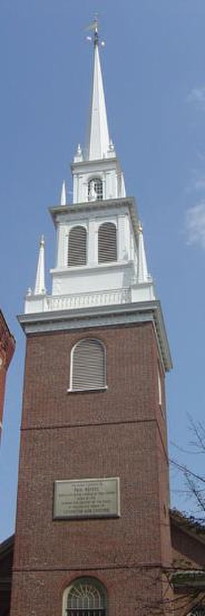 Old North Church - Steeple of the Old North Church