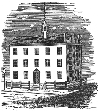 3rd New York State Legislature - The Old Albany City Hall