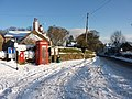Old Brampton in the snow, 21st December, 2009 - geograph.org.uk - 1628630.jpg