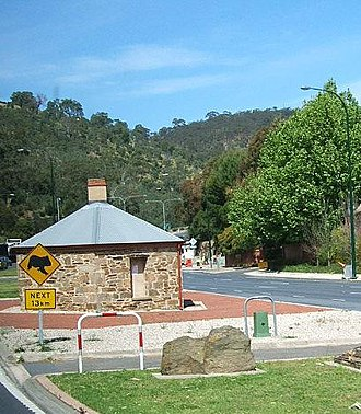 Hundred of Adelaide - The Old Toll House, Urrbrae, at roughly the centre of the hundred