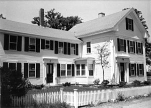 Capt. Oliver Bearse House - early 1980s photo