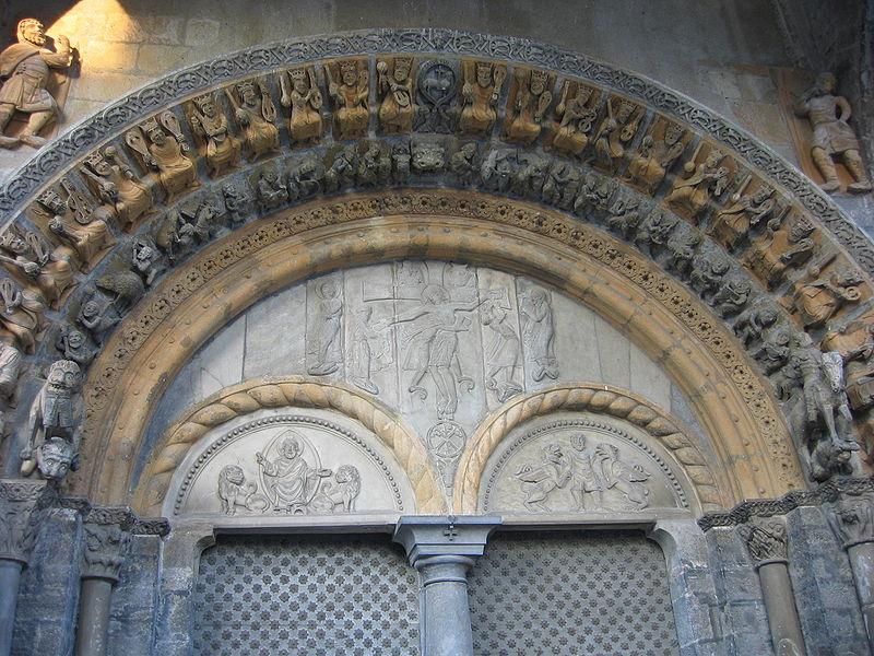 ファイル:Oloron SainteMarie Portail.JPG