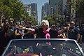 Olympia Dukakis still at Pride Parade, from film Olympia by Harry Marvomichalis.jpg