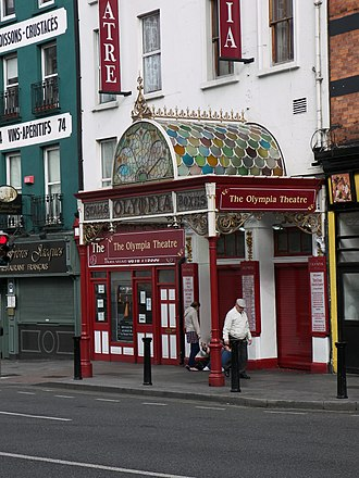 Olympia Theatre, Dublin - Front entrance of the Olympia Theatre in August 2009