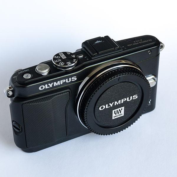 File:Olympus EPL5 front.jpg