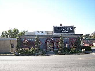 Breadline Cafe - Breadline Cafe in September 2008