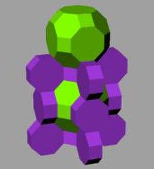 Octagonal prism - Image: Omnitruncated cubic honeycomb