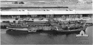 MV <i>Ondina</i> Oil tanker built in 1939