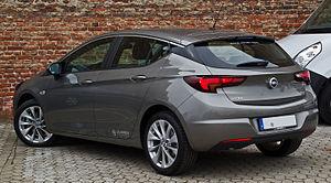 Opel Astra - Opel Astra 1.6 CDTI ecoFLEX Edition (Germany)