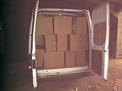 Operation Hornbeam - cigs in van (9151382982).jpg