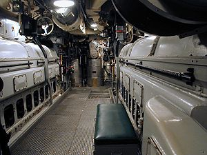 Diesel fuel - Fairbanks-Morse opposed piston diesel engines on a submarine