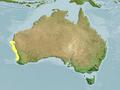 Orectolobus parvimaculatus range map.png