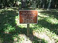 Ormond Beach FL Bulow Creek SP Conrad-Oates sign01.jpg
