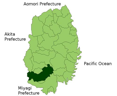 州市哹n�c9.&�ki��(_奥州市在日本岩手县的位置 - 奥州市