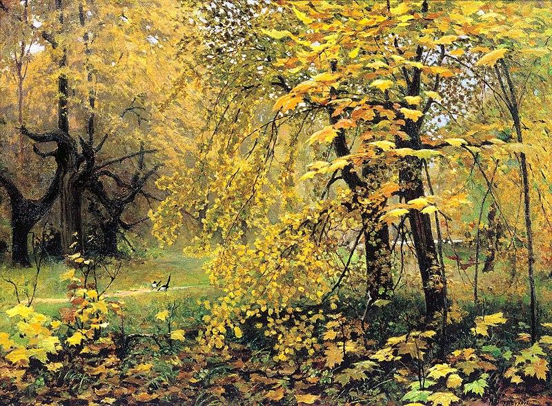 File:Ostrouhov Zolotaya Osen.jpg