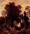 Oswald Achenbach - Park einer italienischen Villa - 12512 - Bavarian State Painting Collections.jpg