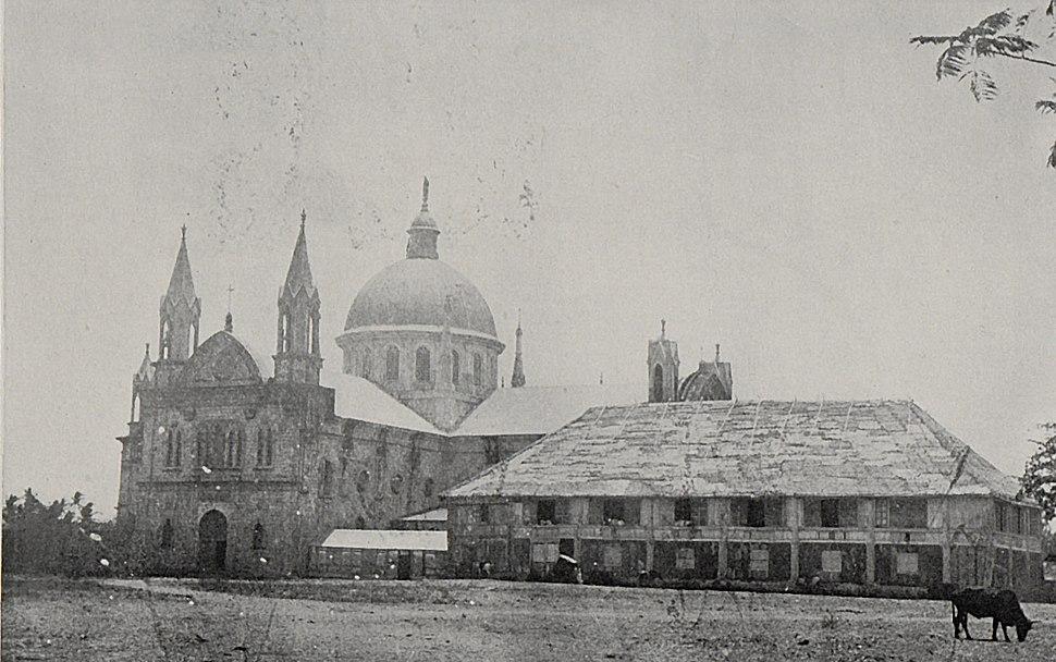 Oton (Iloilo) OldCathedral 1901