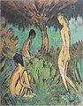 Otto Mueller - Drei Akte unter einem Baum - c.1913.jpeg