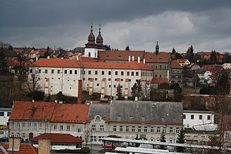 St. Procopius Basilica in Třebíč - Overview of Basilica of Saint Procopius in Třebíč