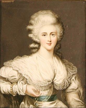 Sarah Fane, Countess of Westmorland - Sarah Anne Fane, Countess of Westmorland, in 1786 by Ozias Humphrey