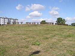 Grodzisko w Płońsku (fot. Wikipedia - Hubert Śmietanka, lic. C.C.2,5)