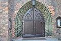 POZNAŃ - portal Kościoła Bożego Ciała z 1406 roku..JPG