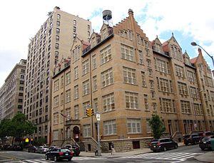 Public School 9 (historic building) - Image: PS9 WEA 82nd NYC 2013