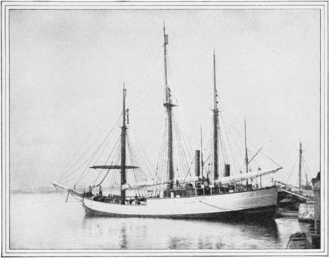 Fram in port, circa 1900 PSM V57 D433 The ship named fram.png