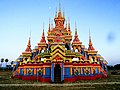 Pa-Auk Village Burmese Buddhist Monks Funeral Temporary Building Front.jpg