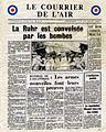 Page 1 du journal LE COURRIER DE L'AIR du 24 juin 1943.jpg